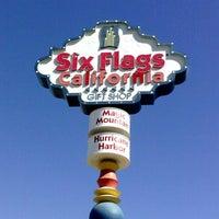 Снимок сделан в Six Flags Magic Mountain пользователем OC H. 7/17/2013
