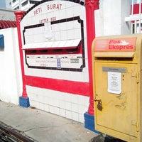 Photo taken at Pejabat Pos (Post Office) by mdhkalish m. on 3/11/2013