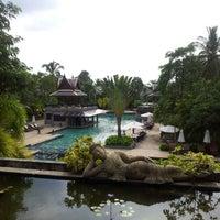 Photo taken at Mukdara Beach Villa And Spa Resort by Dear L. on 11/10/2012