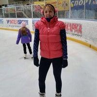 Photo taken at Ледовый Стадион by Наталья Я. on 10/5/2014