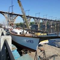 Photo taken at Дніпропетровський міський крейсерський яхт-клуб by Vjacheslav S. on 4/26/2014