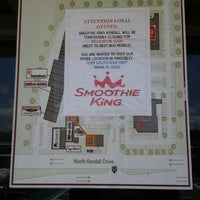 Photo taken at Smoothie King by MrTheodore on 5/8/2014