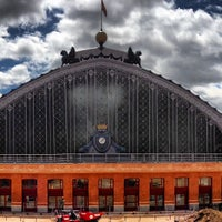 Photo taken at Madrid-Puerta de Atocha Railway Station by Alex M. on 4/27/2013