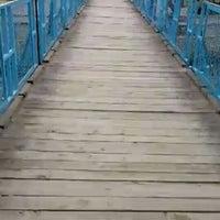 2/7/2016 tarihinde Büşra K.ziyaretçi tarafından Kızılırmak Asma Köprü'de çekilen fotoğraf