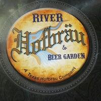 Photo taken at River Hofbräu & Beer Garden by Maria O. on 10/4/2016