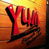 Photo taken at Yum Chinese and Thai Restaurant by AFI on 7/21/2013