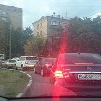 Photo taken at Площадь Ромена Роллана by @ifeelgood1 on 8/27/2014