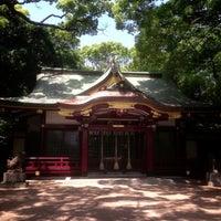 Photo taken at 富松神社 by Tak N. on 5/26/2013