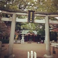 Photo taken at 富松神社 by Tak N. on 1/14/2013