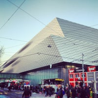 Photo taken at Messe Basel by Sara H. on 2/18/2013
