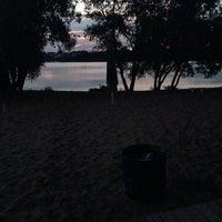 Photo taken at Пляж Карьер by Илюша Н. on 6/13/2014