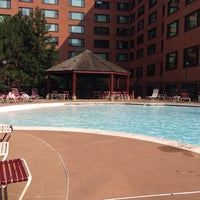 Photo taken at River Place Pool by Turker N. on 7/7/2015