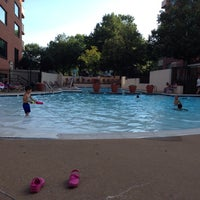Photo taken at River Place Pool by Turker N. on 6/23/2014