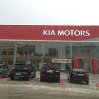 Photo taken at KIA Техно-Моторс by Olga S. on 12/20/2014