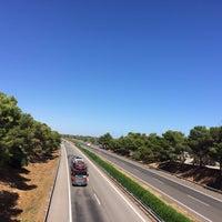 Photo taken at Autopista AP-7 by Olga S. on 7/14/2016
