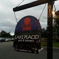 Photo taken at Lake Placid Pub & Brewery by Daniel R. on 8/7/2013