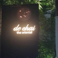 Photo taken at de chai the oriental by Siriporn w. on 12/26/2014