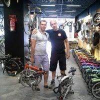 Photo taken at Bike Gràcia by Brompton Bike on 7/3/2014