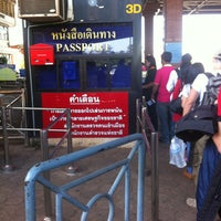 Photo taken at Thailand-Laos Friendship Bridge Immigration by Tanakawee แ. on 1/5/2013
