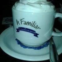Photo taken at A Familiar Confeitaria by Mel v. on 7/2/2014
