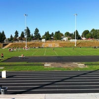Photo taken at Franklin High School by Jason D. on 9/22/2012