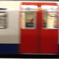 Photo taken at Manor House London Underground Station by Robert M. on 11/27/2012