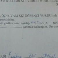 Photo taken at Özel Özyuvam Kız Yurdu by F.nur Y. on 6/17/2016