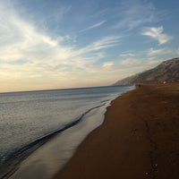 Photo taken at Samandağ Sahil by Hasan B. on 11/8/2014