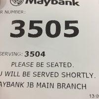 Photo taken at Maybank by Kikin on 6/6/2017
