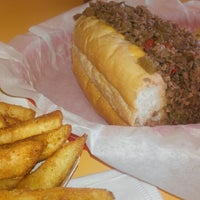 Photo taken at The Original Steaks & Hoagies by José F. on 10/22/2013