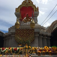 Photo taken at Shrine of Lord Shiva by Kottchaya N. on 6/1/2014