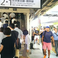 Photo taken at JR 横浜線 東神奈川駅 by 太田 康. on 8/14/2018