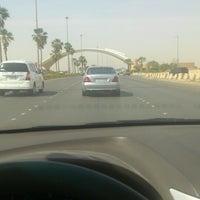 Photo taken at طريق المطار by Abdullelah A. on 4/27/2014