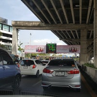 Photo taken at Bang Na Toll Plaza by Jo T. on 9/15/2017