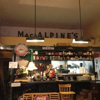 Photo taken at MacAlpine's Soda Fountain by Jason D. on 10/7/2012