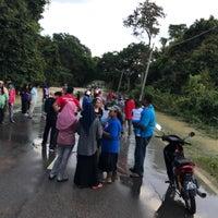 Photo taken at surau kampung bukit senggir by Danish H. on 1/27/2017