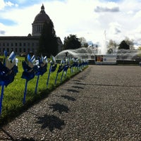 Photo taken at Washington State Capitol by Jessica P. on 4/15/2013