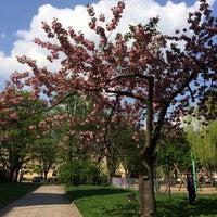 Photo taken at Plac Hallera by Marysia Ż. on 4/24/2014