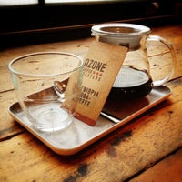 Photo taken at Ozone Coffee Roasters by Johannes K. on 10/22/2012
