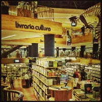 Photo taken at Livraria Cultura by André B. on 4/16/2013