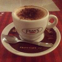 Photo taken at Fran's Café by Eduardo S. on 6/10/2013