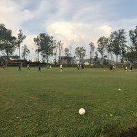 Photo taken at Pune Football Club, Practice Pitches by Dino G. on 10/7/2017