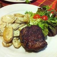 Photo taken at K1 Steakhouse by Ondřej B. on 10/2/2012