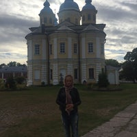 Photo taken at Коневецкий монастырь by Katerina T. on 8/29/2015