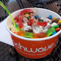 Photo taken at Peachwave by Mark L. on 7/16/2013