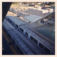 Photo taken at Millbrae BART Station by Ellen T. on 10/18/2013