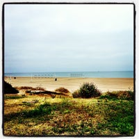 Photo taken at Will Rogers State Beach by Eric James H. on 6/6/2013