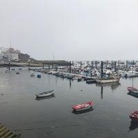 Photo taken at Porto de Fisterra by Deborah on 9/23/2017