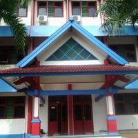 Photo taken at Semesta Billingual Boarding School by sinta p. on 7/13/2013