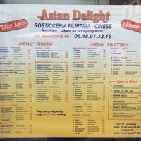 Photo taken at Asian Delight by Richard B. on 1/30/2017
